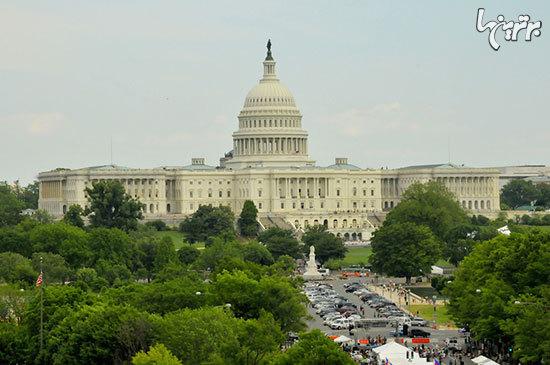 گنبد ساختمانی کنگره آمریکا